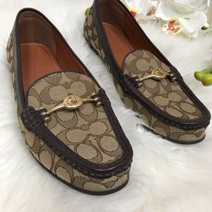 Coach Flats Loafers Women's Shoes